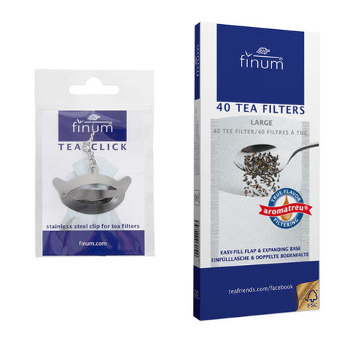 Tea Filter Set - Make Your Own Teabags - Pure Darjeeling Tea