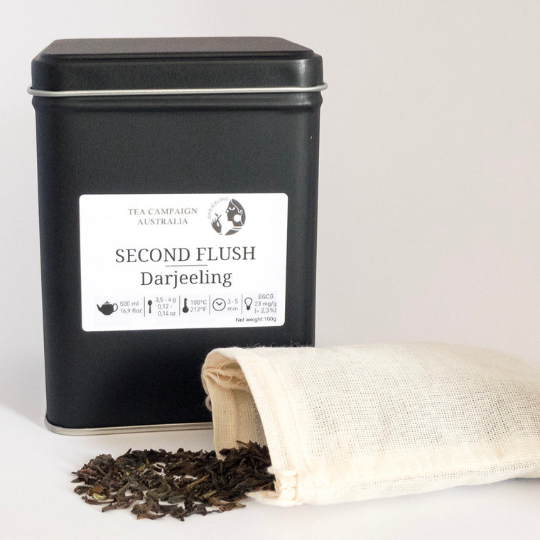 Tea Campaign Australia - Pure Darjeeling Tea - Black Tea - Second Flush