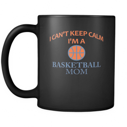 Basketball Mom 11 oz. Mug. Basketball Mom funny gift idea.