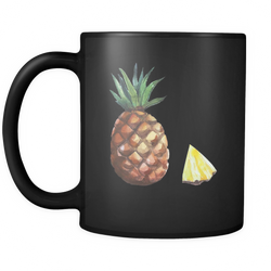 Pineapple 11 oz. Mug. Pineapple funny gift idea.
