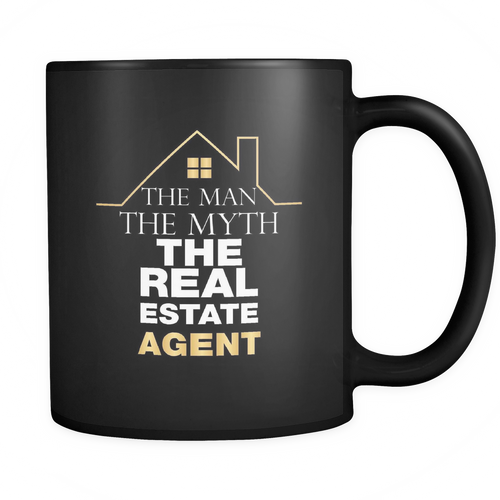 Real Estate Agent 11 oz. Mug. Real Estate Agent funny gift idea.