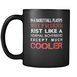 Basketball Player's 11 oz. Mug. Basketball Player's funny gift idea.