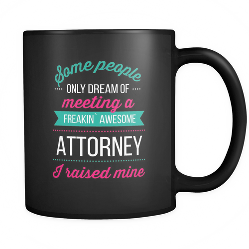 Attorney 11 oz. Mug. Attorney funny gift idea.