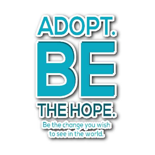 Adoption Sticker