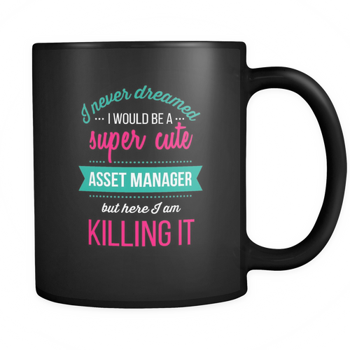 Asset Manager 11 oz. Mug. Asset Manager funny gift idea.
