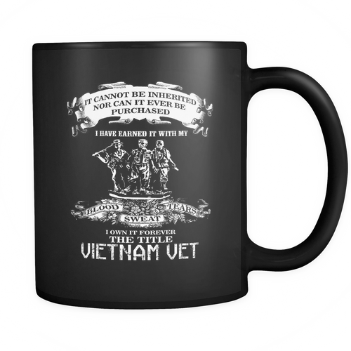 Vietnam Veteran - I own it forever the title Vietnam Vet Mug