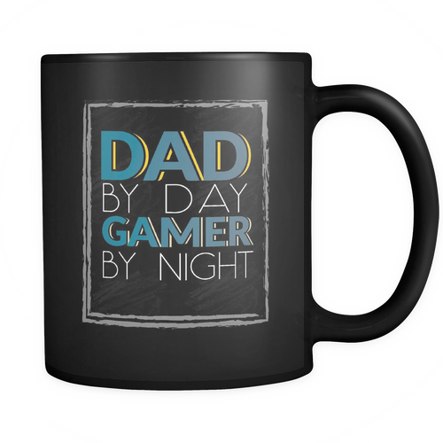 Gamer Dad  11 oz. Mug. Gamer Dad  funny gift idea.