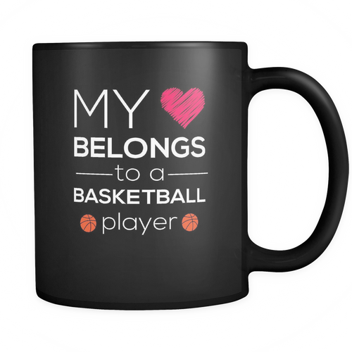 Basketball 11 oz. Mug. Basketball funny gift idea.