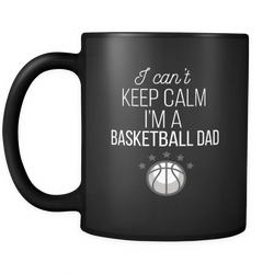 Basketball Dad 11 oz. Mug. Basketball Dad funny gift idea.