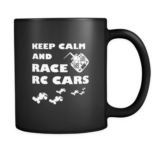 RC Car 11 oz. Mug. RC Car funny gift idea.