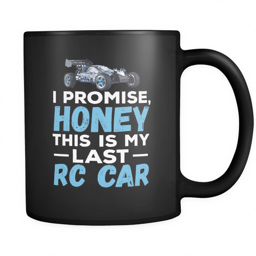 Rc Cars 11 oz. Mug. Rc Cars funny gift idea.