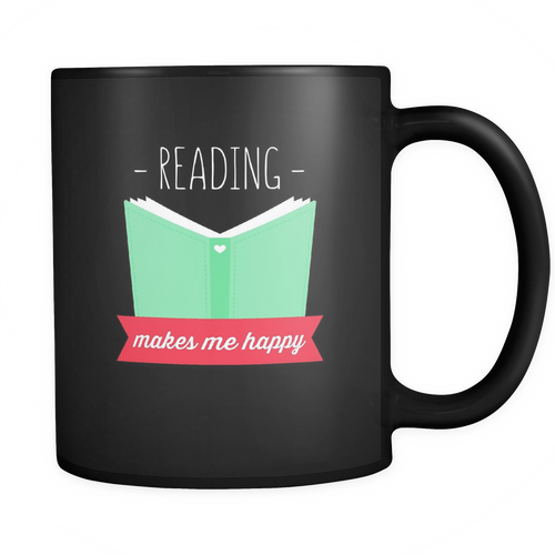 Reading 11 oz. Mug. Reading funny gift idea.