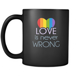 Gay 11 oz. Mug. Gay funny gift idea.