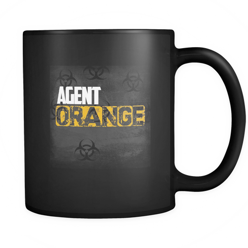 Agent Orange  11 oz. Mug. Agent Orange  funny gift idea.