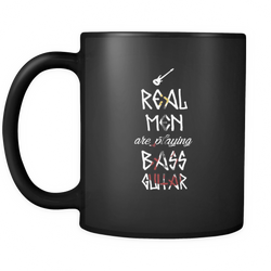 Bass Guitar 11 oz. Mug. Bass Guitar funny gift idea.