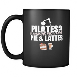 Pilates 11 oz. Mug. Pilates funny gift idea.