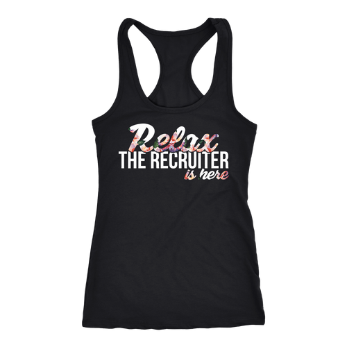 Recruiter T-shirt, hoodie and tank top. Recruiter funny gift idea.