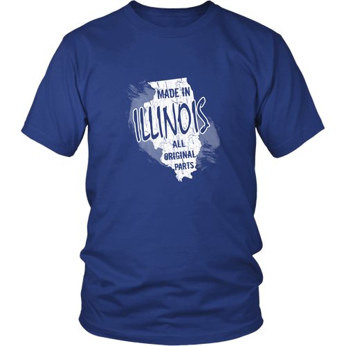 Illinois T-shirt - Made in Illinois
