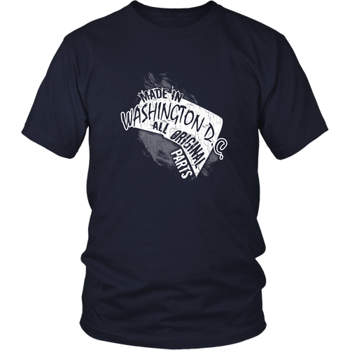Washington D.C. T-shirt - Made in Washington D.C.