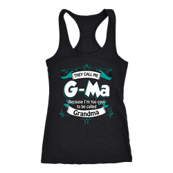 G-ma T-shirt, hoodie and tank top. G-ma funny gift idea.