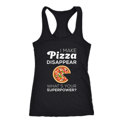 Pizza T-shirt, hoodie and tank top. Pizza funny gift idea.