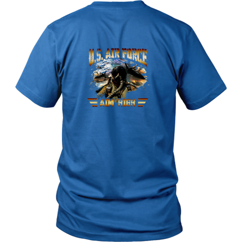 Air force T-shirt - U.S. Air force. I am high