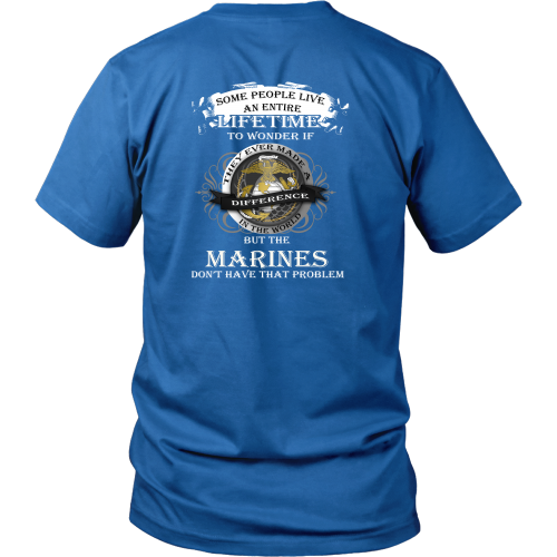 Marines don't have that problem - District Unisex Shirt