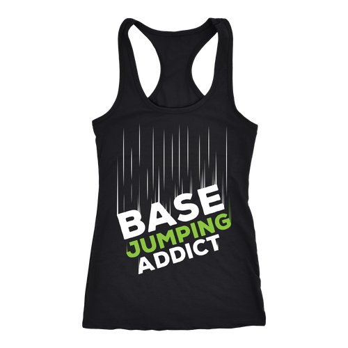 Base jumping T-shirt, hoodie and tank top. Base jumping funny gift idea.