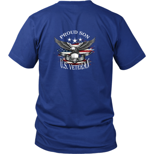 Son of a Veteran T-shirt - Proud son of a US Veteran