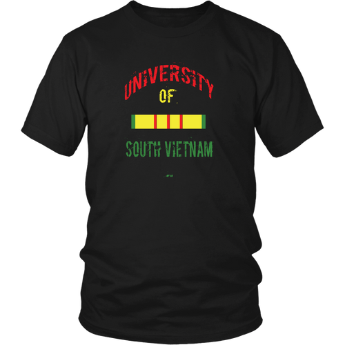 Vietnam Veteran T-shirt - University of Vietnam 2