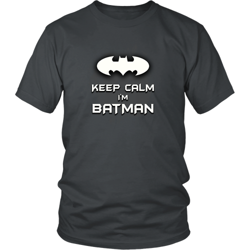 Batman T-Shirt New Unisex Adult Black Shirt Tees