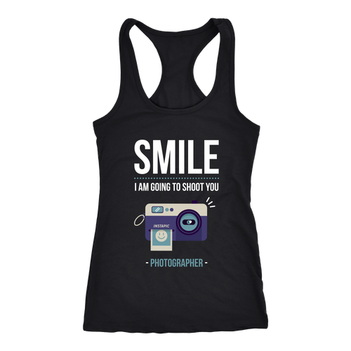 Photographer T-shirt, hoodie and tank top. Photographer funny gift idea.