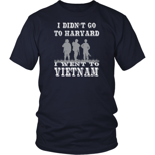 Vietnam Veteran - I didn't go to Harvard I went to VTNM