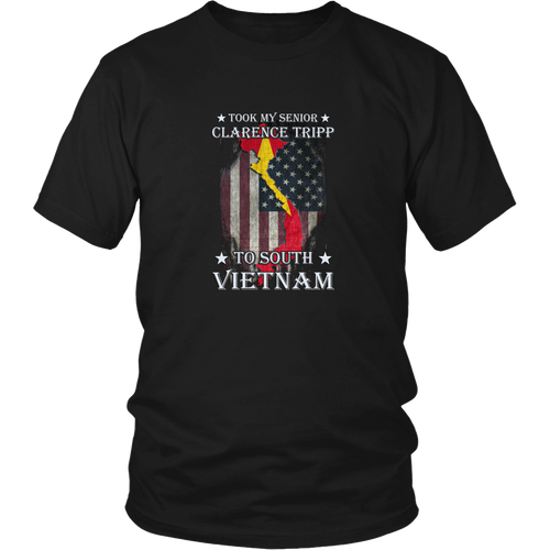 Vietnam Veteran T-shirt - Took my senior Clarence tripp to South Vietnam