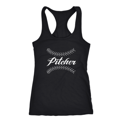 Pitcher T-shirt, hoodie and tank top. Pitcher funny gift idea.
