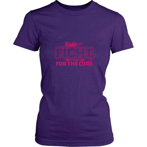 Fight cancer T-shirt - Fight for the cure