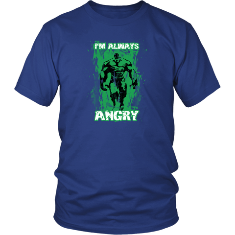 Hulk T-Shirt. New Unisex Adult Black Shirt Tees