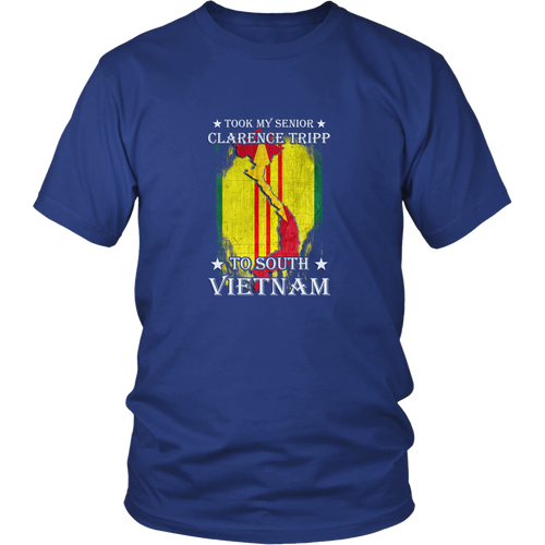 Vietnam Veteran T-shirt - Took my senior Clarence tripp to South Vietnam 3