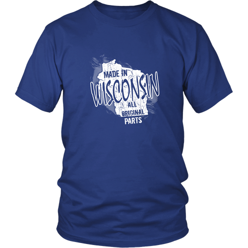 Wisconsin T-shirt - Made in Wisconsin