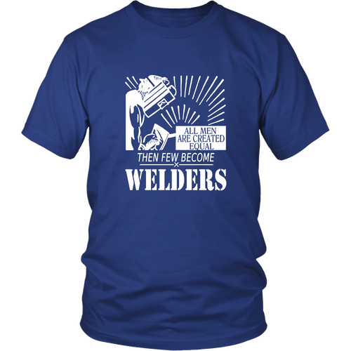 Welder T-shirt - Few become welders