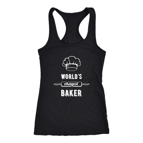 Baker T-shirt, hoodie and tank top. Baker funny gift idea.