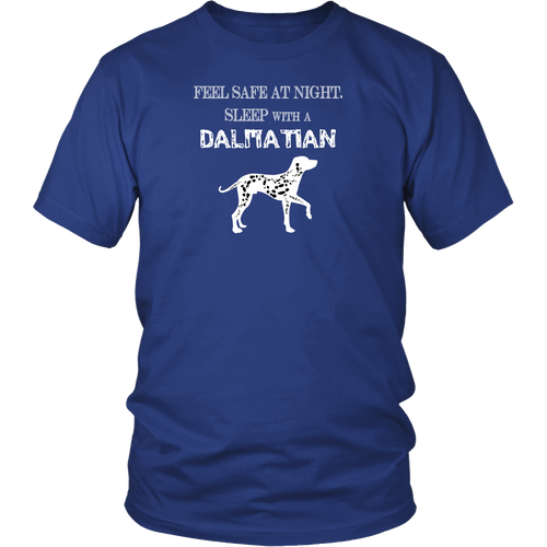 Dalmatian - Feel safe at night sleep with a Dalmatian T-shirt
