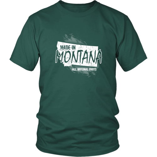 Montana T-shirt - Made in Montana