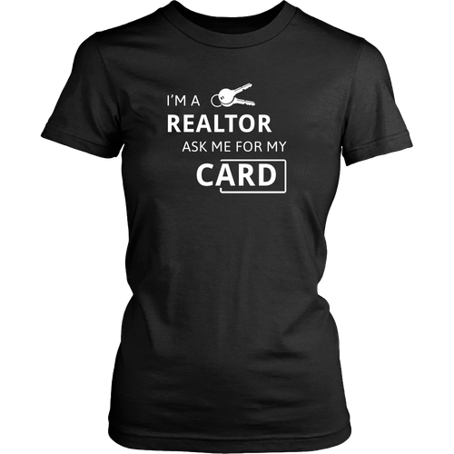 Realtor Strum custom T-shirt (Double-Sided)