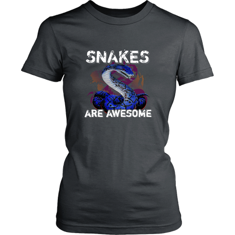 Snakes T-shirt - Snakes are awesome