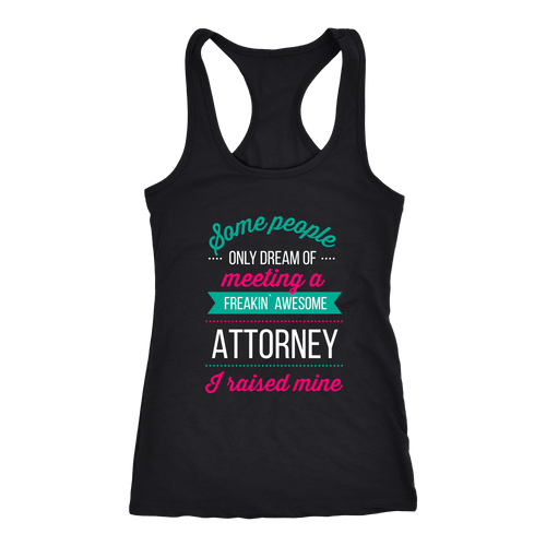 Attorney T-shirt, hoodie and tank top. Attorney funny gift idea.