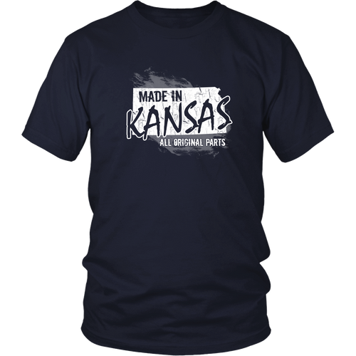 Kansas T-shirt - Made in Kansas