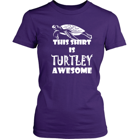Turtles T-shirt - This shirt is turtley awesome
