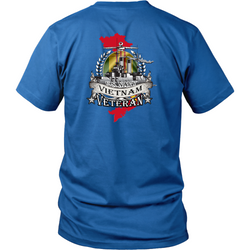 Veterans T-shirt - US Navy Vietnam veteran
