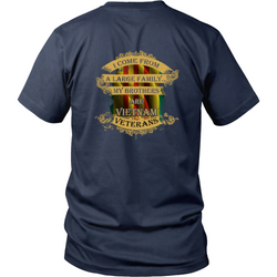 Veterans T-shirt - My brothers are Vietnam veterans 2
